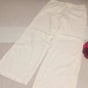 Forever 21 women white pants size large
